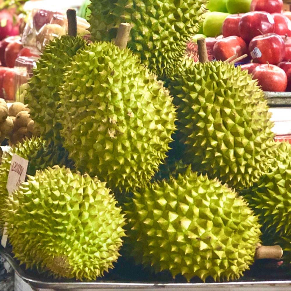 果物の王様ドリアンは葉酸の王様でもあるようです。