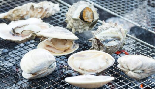 19種類の貝類のカロリーと栄養価を比較:たんぱく質ならサザエ、ミネラル類ならタニシが一番栄養豊富です。